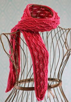 There's no better day than today to learn how to knit a scarf. The Vertical Drop-Stitch Scarf isn't just a winter accessory. This knit scarf is great for year-round wear and tear and can be the perfect complement to all of your outfits.