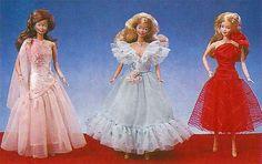 catálogo Barbie Noite de Gala, Estrela, 1987