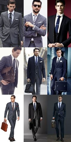 Modern Office Attire: The City Slicker - Tie Clips, Structured Briefcases (Finishing Touches)