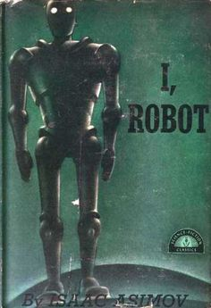 """Pictured above are a few gems from our golden age science fiction collection. """"I, Robot"""" by Isaac Asimov was a high-spot of that er. Science Fiction Books, Pulp Fiction, Fiction Novels, Marcel Proust, Book Cover Art, Book Cover Design, Book Design, Arte Tribal, Sci Fi Films"""