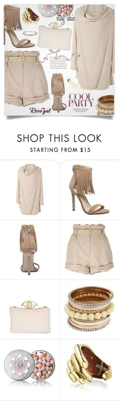 """""""Rosegal 33."""" by lillili25 ❤ liked on Polyvore featuring Moschino, Guerlain, Bernard Delettrez, Ippolita and Mio"""