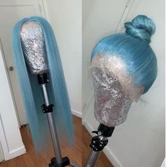 Provide High Quality Full Lace Wigs With All Virgin Hair And All Hand Made. Wholesale Human Hair Wigs Cheap African American Braided Wigs Black And Blue Wig Blue Lace Front Wig, Lace Front Wigs, Human Hair Lace Wigs, Human Hair Wigs, Protective Styles, Box Braids, Hair Removal, Black Hair Wigs, Hair Colorful