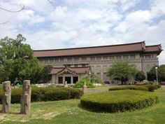 Tokyo National Museum.  One of the oldest museums in Japan and has one of the largest art collections.