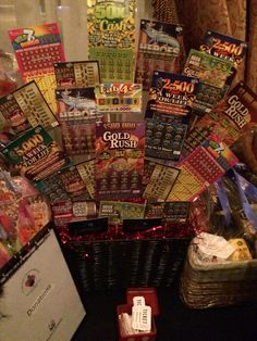 Auction T Basket Lottery Tickets Google Search BRHS