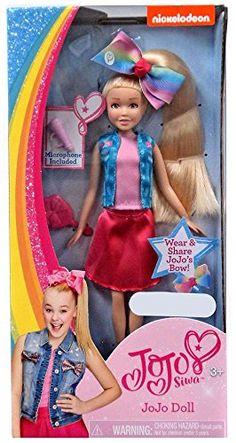 Nickelodeon JoJo Siwa Doll Target Exclusive Just Play Barbie Doll Set, Barbie 2000, Jojo Siwa Bows, Jojo Bows, Jojo Siwa Birthday, Birthday Fun, Baby Girl Toys, Toys For Girls, Fashion Royalty Dolls