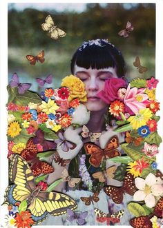 ❀ Flower Maiden Fantasy ❀ beautiful art fashion photography of women and flowers - Ben Giles.