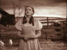 Dorothy in the Wizard of Oz...Going to see Wizard of Oz on stage with Gracie in a couple weeks!