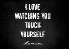 Women love to watch their men stroke it. What a turn on!