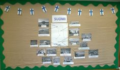 Oppilaat etsivät valokuvia annetuista kohteista ja ne tulostettiin. Independence Day, Geography, Finland, Photo Wall, Science, Holidays, Education, School, Frame