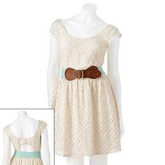 19df372860a City Triangles Lace Dress - Juniors Kohls Dresses