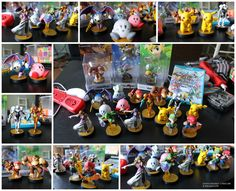 Amiibo Trophy Room Collection by PixelCollie on DeviantArt