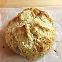 "Amazingly Easy Irish Soda Bread | ""Great recipe. Takes little time to make and was delicious. I added raisins to a loaf and it went fast."""