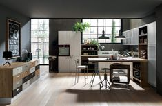 Ice & Sand Industrial Edition - Cucine Componibili - Cucine - Febal Casa