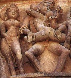 Khajuraho, India Www. Shiva, Khajuraho Temple, Arte Tribal, Historical Art, Arte Pop, Tantra, Gods And Goddesses, Ancient Art, Indian Art