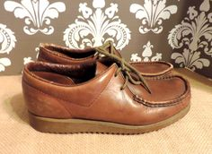 A personal favorite from my Etsy shop https://www.etsy.com/listing/215976717/clarks-wallabees-mens-85-vintage-oxford
