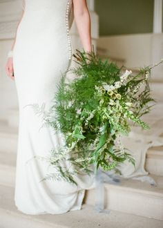 #fern Photography: WOOKIE Photography - wookiephotography.com Floral Design: Emma Vowles - www.emmavowles.co.uk/