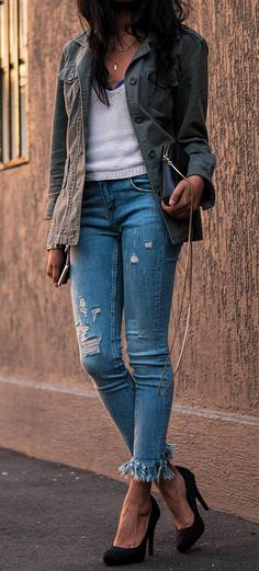 cute casual outfit idea