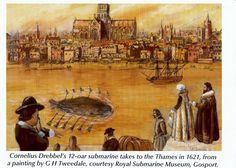 Fieggentrio: Nederlandse uitvindingen: De onderzeeboot (1620)
