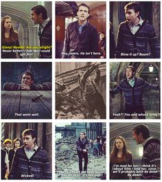 The best of Neville Longbottom...at least for the Deathly Hallows(he said he's mad for/in love, for Luna!!)