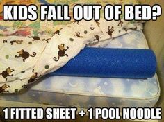 Stop children falling out of bed! Great idea!