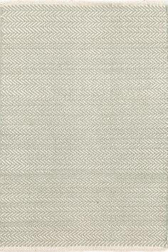 6) Herringbone Ocean Woven Cotton Rug, 6 x 9, $278 + 15% off