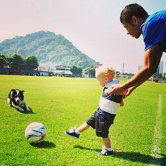 Neymar and davi Lucca Neymar Jr, Neymar Quotes, Soccer Quotes, Brazilian Soccer Players, Italy Soccer, First World Cup, World Cup 2014, Best Player, Football Soccer