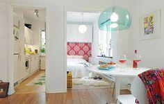 one room apartment design ideas
