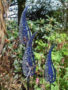 Katie Green mosaic flowers