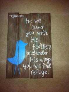 pallet art---one of my favorite verses in Psalms.