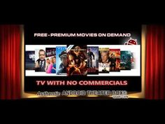 HATE commercials?? Avoid the hassle with Android Theater Streaming Media TV Box! #androidtheater #freemovies #freetv #nocommercials