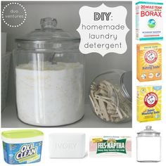 DIY: Homemade Laundry Detergent ~ Easy to throw together and much expensive per load!