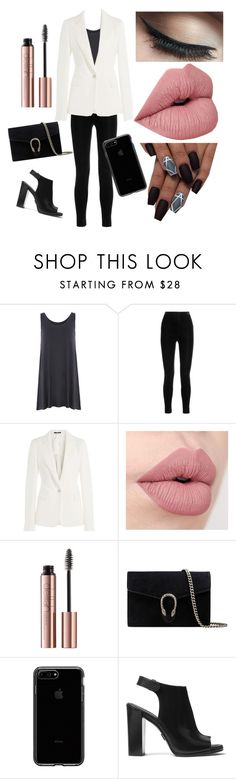 """""""Job Impressions"""" by badassboss ❤ liked on Polyvore featuring Balmain, Maison Margiela, Gucci, Michael Kors, jobinterview, 60secondstyle and plus size clothing"""