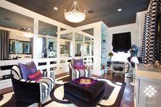 Interior design by Laura U.  #design #dressingroom #closet