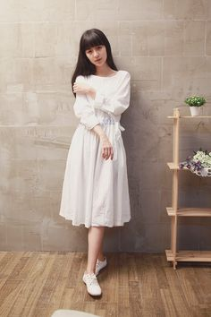 >> Click to Buy << Princess lolita dress Rural embroidery fresh the fairy forest style long sleeves white dress autumn loose cotton linen dress #Affiliate