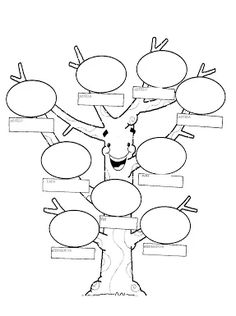 Trendy how to make a family tree for school free printable Spanish Teacher, Spanish Classroom, Teaching Spanish, Teaching English, Spanish Worksheets, Spanish Activities, Class Activities, Christmas Activities, Spanish Family Tree