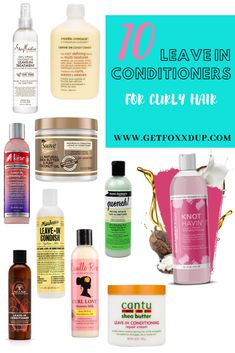 My favorite leave in conditioners for curly hair Curly Hair Tips, Curly Hair Care, Natural Hair Care, Curly Hair Styles, Natural Hair Styles, Natural Curls, Curly Girl, Weave Curls, Curly Hair Problems