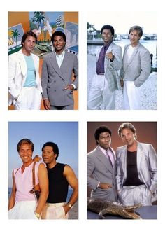 4 Miami Vice Television Show 5 x 7 GLOSSY * 4 Photo Picture LOT