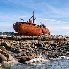 Visit Galway (@visitgalway) • Instagram photos and videos Dark & Stormy, Stormy Night, Shipwreck, Islands, Photo And Video, Videos, Photos, Instagram, Pictures