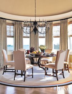 Neutral Country Living Room | LuxeSource | Luxe Magazine - The Luxury Home Redefined