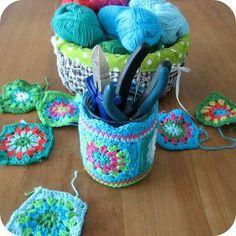 Crochet Jar Cover: