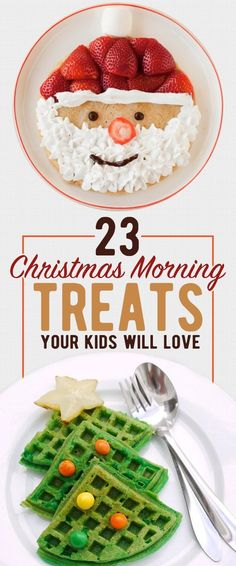 23 Christmas Morning Treats Your Family Will Love - Trend Christmas Desserts 2019 Christmas Snacks, Xmas Food, Christmas Brunch, Christmas Cooking, Noel Christmas, Christmas Goodies, Holiday Treats, Holiday Recipes, Christmas Recipes