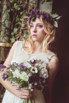 Flowers Lily Paloma Photo © La Femme Gribouillage Autumnal wedding inspiration