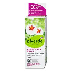 ALVERDE Natural Cosmetics Perfect Complexion Color Correction Cream Hoya Flowers 50 ml | Get Some Beauty