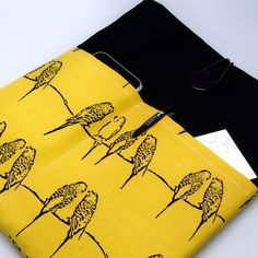 iPad case iPad cover iPad sleeve with 2 pockets by gracefulcrafts, $23.50