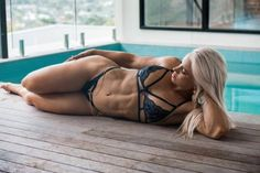 Fitness Indoor pools are the best! Emily Louise King Talklive