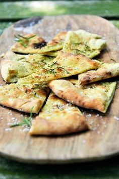 """- The best recipe for """"Focaccia"""" can be found at njam! Discover more than thousands of tasty njam! Tapas Recipes, Italian Recipes, Appetizer Recipes, Healthy Recipes, Ma Baker, Snacks Für Party, Paninis, Happy Foods, High Tea"""