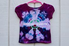 Tiedye T Shirt-12 MONTHS-Tiedyed T Shirt-Tiedye Shirt-Girls Shirt-Girls T Shirt-Girls Clothing-Tiedyed TShirt-Tiedyed Shirt-Tiedye Shirt by BriteLiteDyed on Etsy