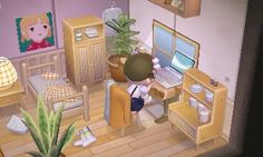 Kleines zimmer Animal Crossing Pocket Camp, Animal Crossing Game, Animal Crossing Wild World, Happy Home Designer, Qr Codes, All About Animals, My Animal, Anime Princess, Videogames