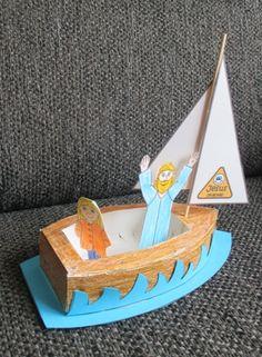 Jezus aan boord Jesus on board