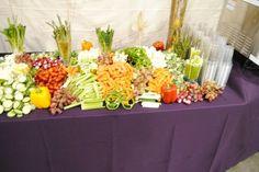Appetizer+Displays | Appetizer Display | Yelp Appetizer Display, Catering Food Displays, Grad Parties, Food Art, Buffet, Appetizers, Table Decorations, Dinner, Reception Ideas